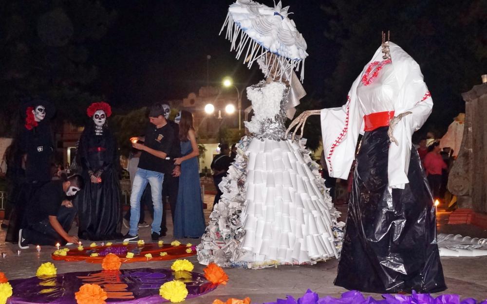 Festival Cultural Del Día De Muertos Escuela Preparatoria